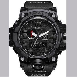 SMAEL Sport Watch Military Watch LED Analog -